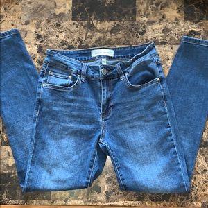 Ashley mason ankle skinny jeans